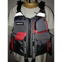 Fishing PFD Life Jacket Vest Kayaking Canoe Angler Safety Floats Flotation