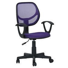 Executive Ergonomic Purple  Mesh Computer Office Desk Task Midback Task Chair