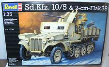Neuf revell échelle 1:35 kit nº 03061 Sd.Kfz.10/5 allemand agnm & 2-cm flak 38