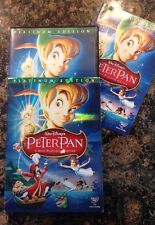 Peter Pan (DVD,2007,2-Disc,Platinum Edition) Authentic US Release RARE Oop