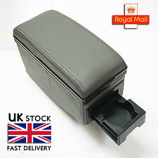Universal Grey Armrest Centre Console Fits Ford Connect Courier Focus