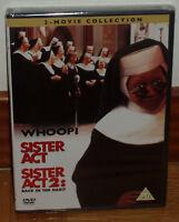 SISTER ACT SISTER ACT 2 COLECCION 2 DVD DISNEY NUEVO WHOOPI GOLDBERG ESPAÑOL R2