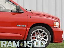 DODGE RAM 1500 étiquette autocollant de voiture Vitre Arrière Tuning Capot Porte