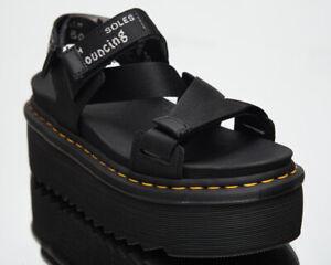 Dr. Martens Kimber Hydro+Logo Webbing Sandals Women's Casual Lifestyle Footwear