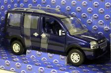 NOREV 1:24 MODELLO DIE CAST MINIVAN FIAT DOBLO' MALIBU BLU ART 771050