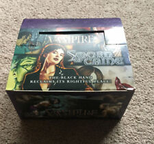 VAMPIRE THE ETERNAL STRUGGLE VTES SWORD OF CAINE COMPLETE BOOSTER BOX WHITE WOLF