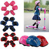 7 PCS KIDS HELMET KNEE ELBOW PAD SET GEAR SKATE CYCLING BIKE SAFETY GIFT