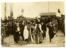 Vintage 1909 President Theodore Roosevelt Lincoln Cornerstone Kentucky Photo