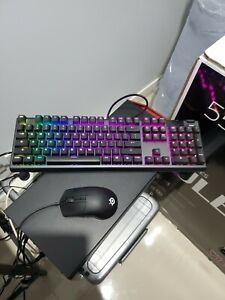 SteelSeries set, Apex 5 Hybrid Mechanical RGB KB+Rival 3+ Rgb Mousepad