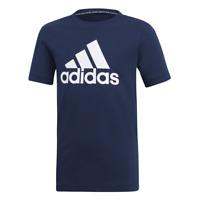 Adidas Jungen Bos T-Shirt Training Mode Kinder Jung Lifestyle Blau Neu DV0817