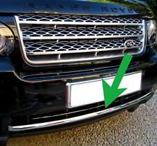 PARAURTI ANTERIORE Chrome Trim Striscia di Divisione per Range Rover L322 VOGUE se 2010 su