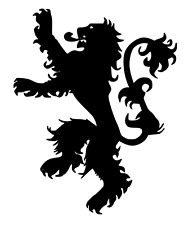 Game of Thrones House Lannister Stencil