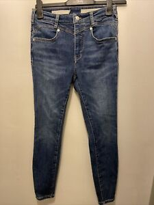 Pilcro & The Letterpress By Anthropologie High Rise Skinny Jeans Size 28