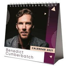 Benedict Cumberbatch 2021 Desktop Calendar NEW