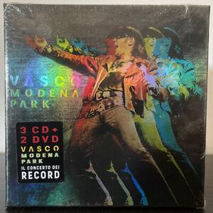 VASCO ROSSI - VASCO MODENA PARK ( 3 CD + 2 DVD ) NUOVO SIGILLATO