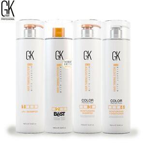 Global Keratin GKHair The Best Keratin Hair Smoothing Blowout Treatment Kit 33oz
