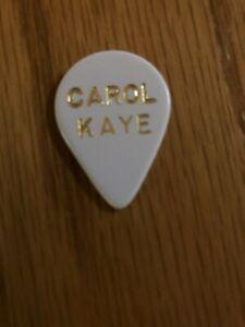 Carol Kaye Bass Guitar Pick- Wrecking Crew