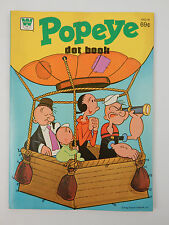 1978 New unused Popeye & friends Whitman Coloring book w/ Connect the Dots