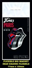 ROLLING STONES NO FILTER PARIS FLEXIBLE BIG MAGNET IMAN GRANDE 0210