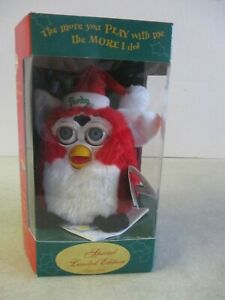 VTG 1999 FURBY SPECIAL LIMITED EDITION CHRISTMAS SANTA TIGER ELECTRONICS TOY