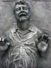 # STAR WARS GEORGE LUCAS IN CARBONITE FRIDGE MAGNET , IMAGE SIZE 70MM X 45MM