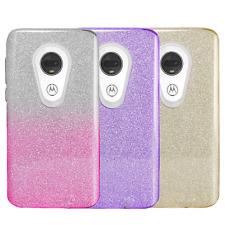 For Moto G7 / G7 Play / G7 Plus / G7 Optimo / Revvlry, Slim Glitter Bling Case