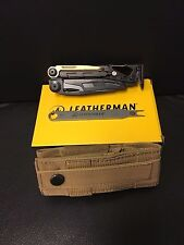 Leatherman 850022 Black MUT Tactical Multi-Tool with Molle Brown Sheath NEW