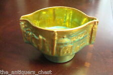 Zsolnay Hungary  Eosin green iridiscent vase decorated with cathedrals[1stfloor]
