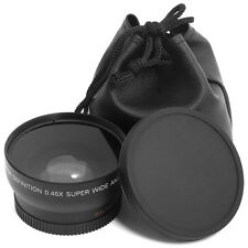 0.45x 52mm Super Wide Angle Macro Lens for Nikon DSLR D3200 D3100 D5100 D7000 UK