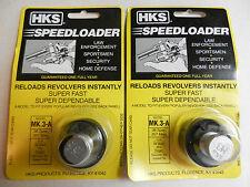 HKS Speedloader;  MK.3-A;  6-Shot;  38 SPL,  357 Mag;  2 Pack; Fast & Dependable