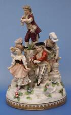 Dresden Date-Lined Ceramic Figurines