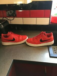 nike air force 1 trainers size uk 10.5