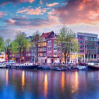 AMSTERDAM - 3 Tage Städtetrip für 2 Personen in der Hauptstadt der Niederlande