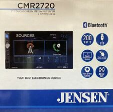 "New Jensen Cmr2720 2-Din, 7"" Touchscreen Digital Media Car Stereo w/ Bluetooth"