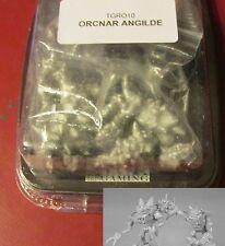 Relics TGRO10 The Orcnar Angilde (2) 28mm Miniatures Mutant Chaos Monster NIB