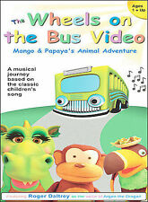The Wheels on the Bus Video (NEW & SEALED DVD) FREE SHIPPING
