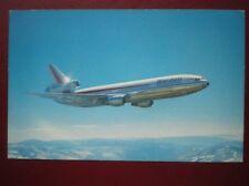 POSTCARD AIR WARDAIR CANADA MCDONNELL DOUGLAS DC10-30 AEROPLANE