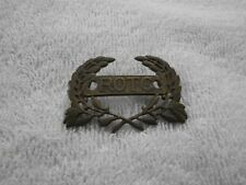 "Vintage ROTC Pin by KREW G-I 1-3/4"" Across"
