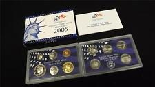 2005 S US Mint Proof 11 Coin Set