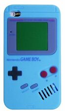 GOMA piel silicona GAMEBOY TRASERO Funda Apple iPhone 4g 4s & iPod Touch 4