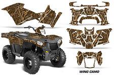 Polaris Sportsman 570 Graphic Kit Wrap Quad AMR Racing Decal ATV 14-17 DUCK CAMO