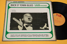 LOUIS ARMSTRONG LP BACK O' TOWN BLUES 1°ST ORIG ITALY MONO RCA EX
