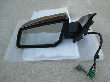 07 - 12 GMC ACADIA DRIVER SIDE POWER FOLDING MEMORY AUTO DIM MIRROR P/N 25842041