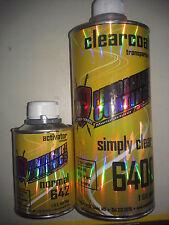 TCI Performance Clearcoat Kit 1 Quart  High Gloss Urethane 4 1 Mix Clear Paint