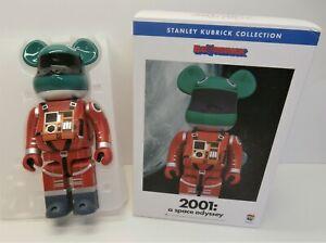 Bearbrick 2001 Space Odyssey Orange 400% - Medicom Be@rbrick - Boxed Kubrick