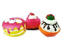 Jumbo Squishy Cake  Dessert Scented Slow Rising Toys kid /Adults 8 cm New