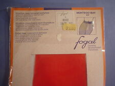 Fogal Style 117 Montego Bay Sheer to Waist Pantyhose Size Large in Rouge
