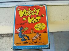 """Krazy Kat"" by George Herriman's (1969) jacket shows wear  rare find"
