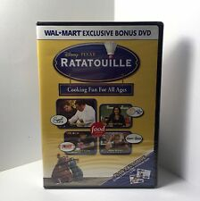 Ratatouille Bonus DVD - Cooking Fun for All Ages - Disney PIXAR & Food - New!