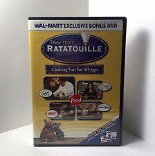 Ratatouille Bonus DVD - Cooking Fun for All Ages - Disney PIXAR & Food - New!